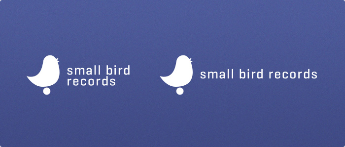 logo: small bird records